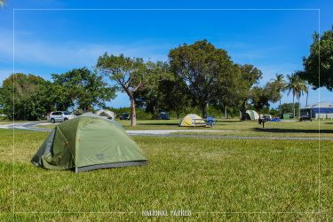 Flamingo Campground in Everglades National Park in Florida