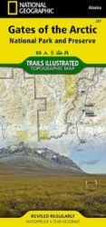 Gates of the Arctic Trails Illustrated Map