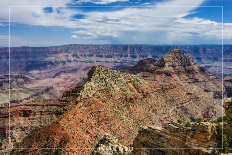 Angel's Window area in Grand Canyon National Park in Arizona
