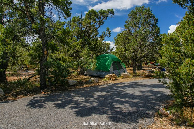 Desert View Campground in Grand Canyon National Park in Arizona