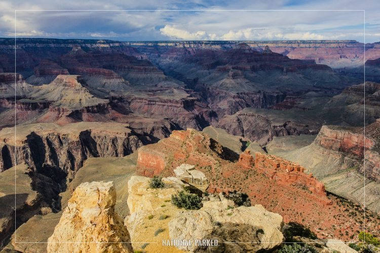 Maricopa Point in Grand Canyon National Park in Arizona