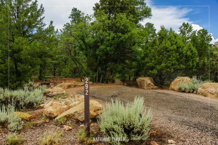 Mather Campground in Grand Canyon National Park in Arizona