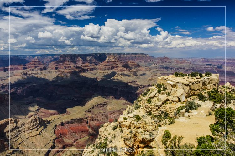 Moran Point in Grand Canyon National Park in Arizona