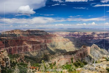 Point Imperial in Grand Canyon National Park in Arizona