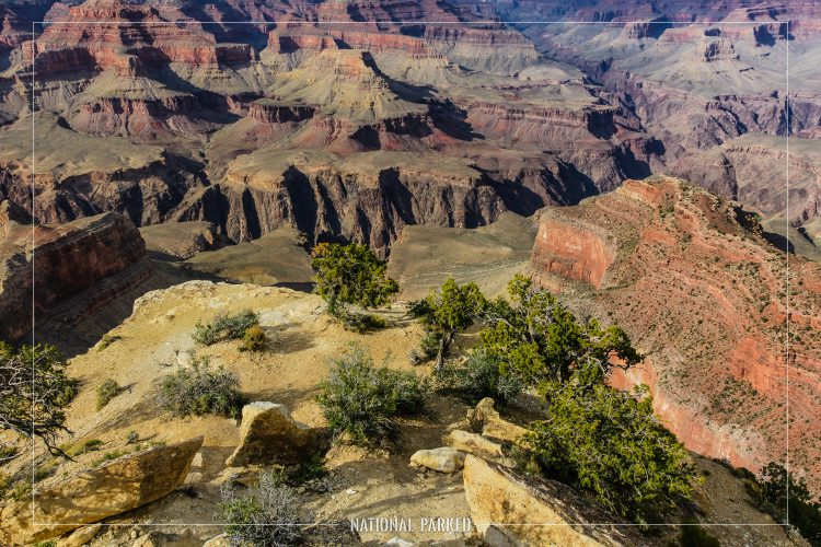 Powell Point in Grand Canyon National Park in Arizona