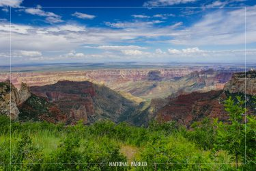 Roosevelt Point in Grand Canyon National Park in Arizona