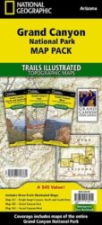 Grand Canyon Trails Illustrated Map Bundle