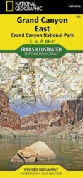 Grand Canyon East Trails Illustrated Map