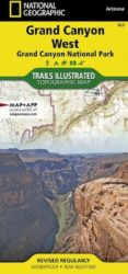 Grand Canyon West Trails Illustrated Map