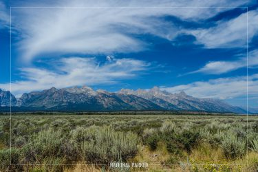 Albright View Turnout in Grand Teton National Park in Wyoming