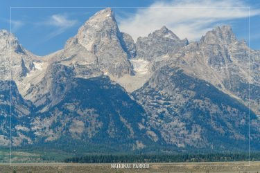 Glacier View Turnout in Grand Teton National Park in Wyoming