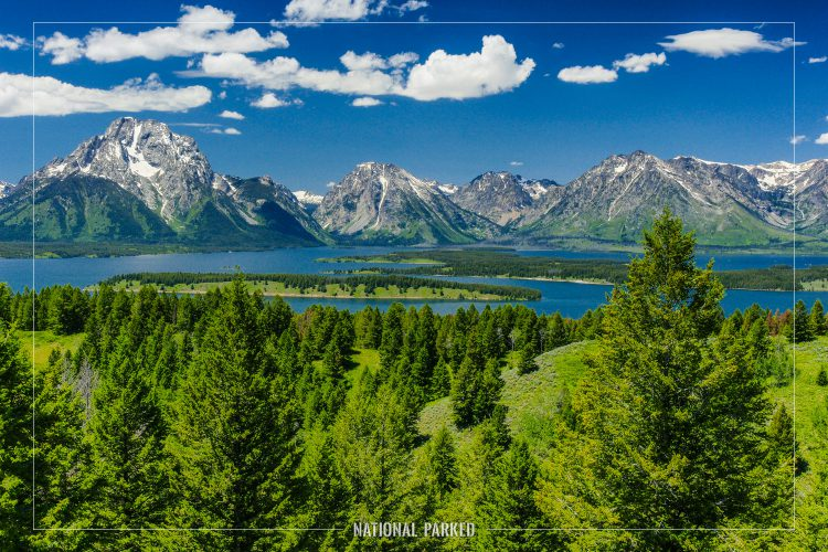 Jackson Point Overlook in Grand Teton National Park in Wyoming