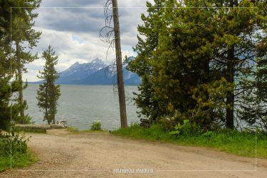 Lakeview Picnic Area in Grand Teton National Park in Wyoming