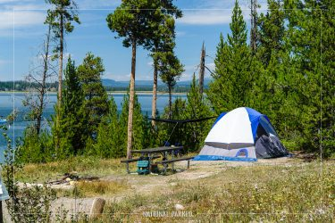 Signal Mountain Campground in Grand Teton National Park in Wyoming