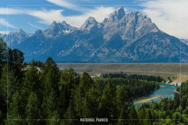 Snake River Overlook in Grand Teton National Park in Wyoming