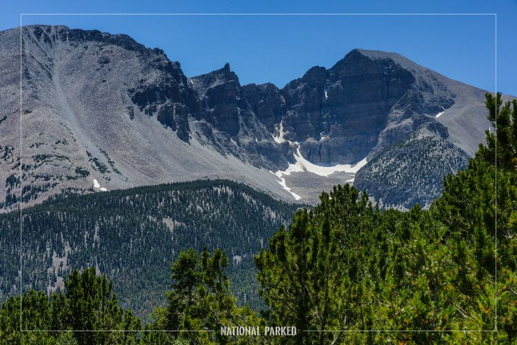 Wheeler Peak Overlook in Great Basin National Park in Nevada