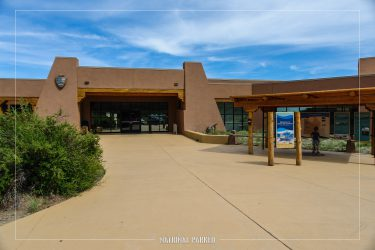 Visitor Center in Great Sand Dunes National Park in Colorado