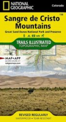 Sangre de Cristo Trails Illustrated Map