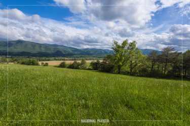 Cades Cove in Great Smoky Mountains National Park in Tennessee