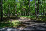 Cades Cove Campground in Great Smoky Mountains National Park in Tennessee