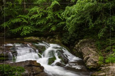 Laurel Creek in Great Smoky Mountains National Park in Tennessee