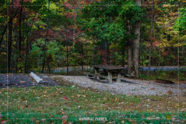 Look Rock Campground in Great Smoky Mountains National Park in Tennessee