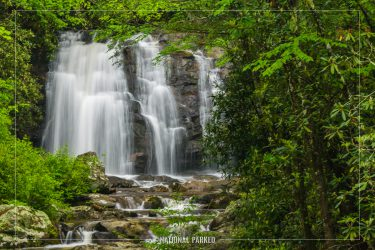 Meigs Fall in Great Smoky Mountains National Park in Tennessee