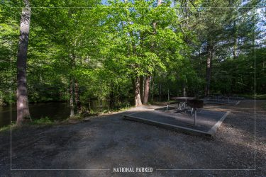 Metcalf Bottoms Picnic Area in Great Smoky Mountains National Park in Tennessee