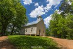 Methodist Church in Cades Cove in Great Smoky Mountains National Park in Tennessee