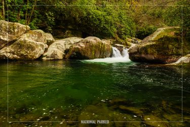 Midnight Hole in Great Smoky Mountains National Park in North Carolina