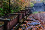 Mingus Mill in Great Smoky Mountains National Park in North Carolina