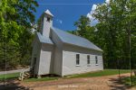 Missionary Baptist Church in Cades Cove in Great Smoky Mountains National Park in Tennessee
