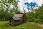 Tipton Place in Cades Cove in Great Smoky Mountains National Park in Tennessee