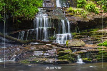 Tom Branch Falls in Great Smoky Mountains National Park in North Carolina