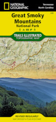 Great Smoky Mountains Trails Illustrated Map