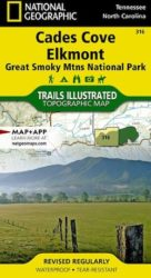 Great Smoky Mountains Cades Cove Trails Illustrated Map