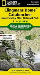 Great Smoky Mountains Clingmans Dome Trails Illustrated Map