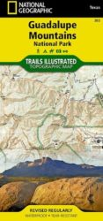Guadalupe Mountains Trails Illustrated Map