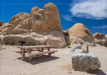 White Tank Campground, Joshua Tree National Par, California