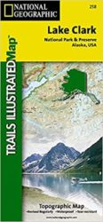 Lake Clark Trails Illustrated Map