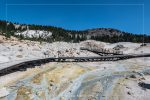 Bumpass Hell in Lassen Volcanic National Park in California