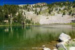 Emerald Lake in Lassen Volcanic National Park in California
