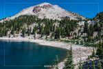 Lake Helen in Lassen Volcanic National Park in California