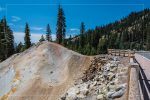 Sulphur Works in Lassen Volcanic National Park in California