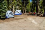 Summit Lake North Campground in Lassen Volcanic National Park in California