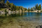 Terrace Lake in Lassen Volcanic National Park in California