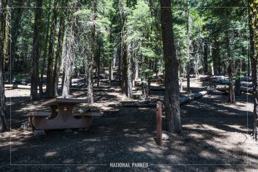 Warner Valley Campground in Lassen Volcanic National Park in California