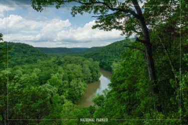 Green River Bluffs in Mammoth Cave National Park in Kentucky