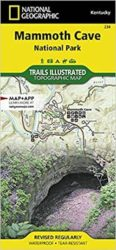 Mammoth Cave Trails Illustrated Map