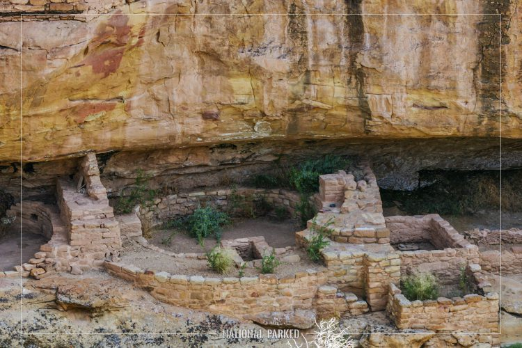 New Fire House in Mesa Verde National Park in Colorado
